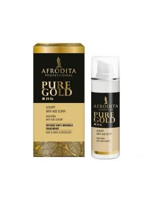 GOLD 24K LUXURY ELIXIR anti-age pentru fata, gat, decolteu 30 ml