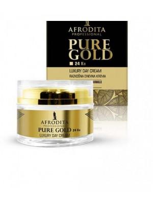 GOLD 24k LUXURY Crema de zi pentru ten normal/mixt sau uscat 50 ml