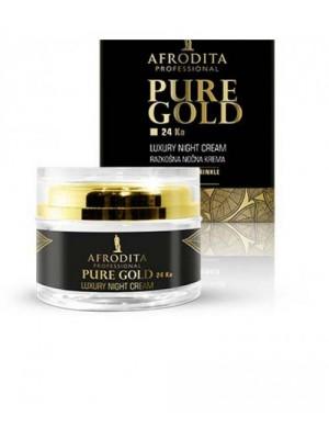 GOLD 24k LUXURY Crema de noapte pentru ten normal uscat 50 ml