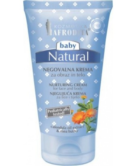 BABY NATURAL Crema de ingrijire si protectie . Fara parabeni, parafina, silicon, coloranti.