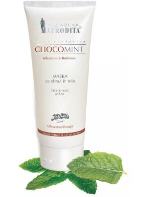 Masca ChocoMint profesionala pentru piele normala, uscata - faciala si corporala, tub 250 mL