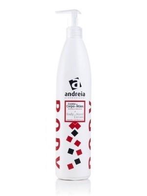 ANDREIA Crema profesionala pentru corp si maini, flacon cu dispenser 500mL