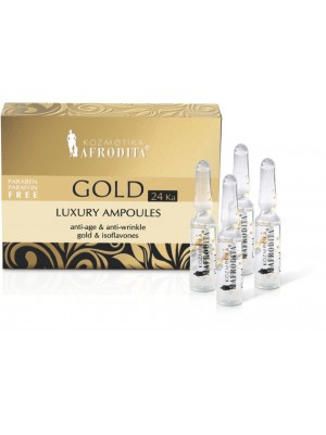 GOLD 24K LUXURY 5 Fiole 1,5ml pt orice tip de ten