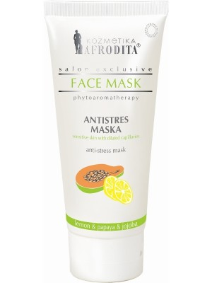 Masca anticuperozica si antistress,  tub 200 mL