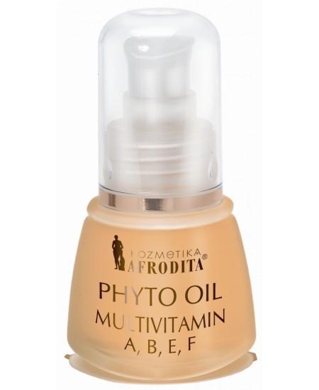 PHYTO OIL MULTIVITIMIN A, B, E, F Serum profesional pentru orice tip de ten, flacon 30 mL