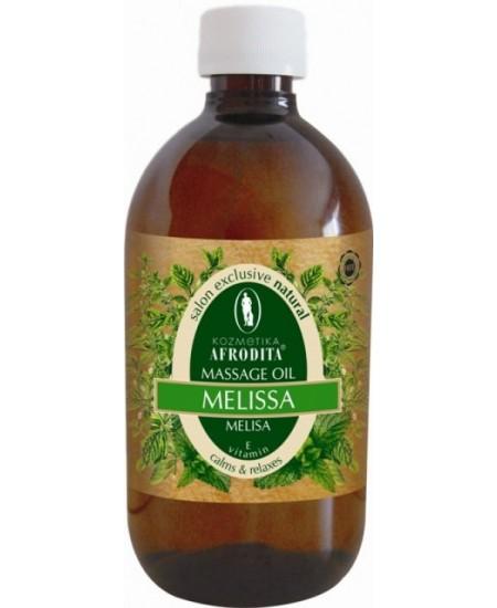 ULEI NATURAL PROFESIONAL PENTRU MASAJ cu melisa si vitamina E, flacon 500 mL