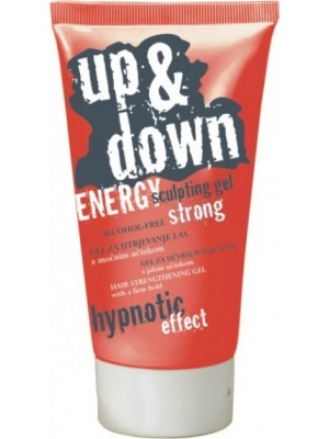 UP & DOWN ENERGY Sculpting Strong GEL pentru par, tub 150mL
