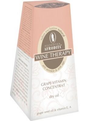 WINE THERAPY Grape-vitamin concentrat serum uleios, fara parabeni, flacon cu picurator 30 mL